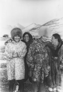 женщины на Чукотке