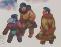 Две девочки. Эскимосская сказка.