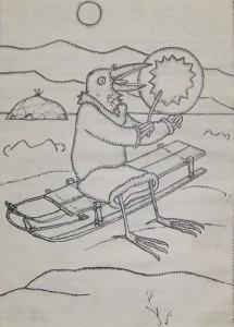 Рты послужили человеку. Эскимосская сказка.