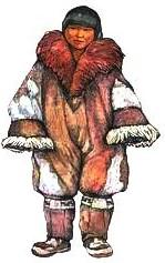 Керкер. Чукотская одежда.