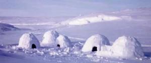 История Чукотки. Жилище полярных (американских) эскимосов.
