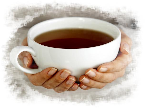 Я одна - я пью чай. Ненлюмкина.